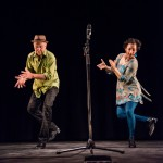 NOW BOOKING: Evie Ladin & Keith Terry *Touring July 2018 * Dynamic American roots music and dance from this hugely entertaining duo