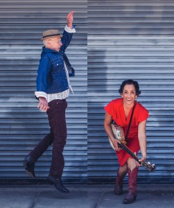 NOW BOOKING: Evie Ladin & Keith Terry *Touring July 2018 * Dynamic American roots music and dance from an exceptional duo