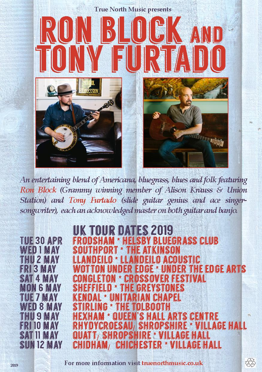 UPDATED Ron Tony A5 flyer tour dates